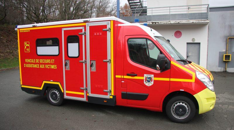 Nouveau véhicule de secours et d'assistance aux victimes cellulaire
