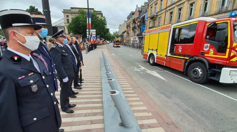 Défilé du 14 juillet à Belfort