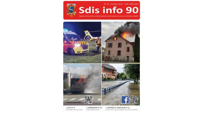 Nouveau magazine des sapeurs-pompiers du Territoire de Belfort